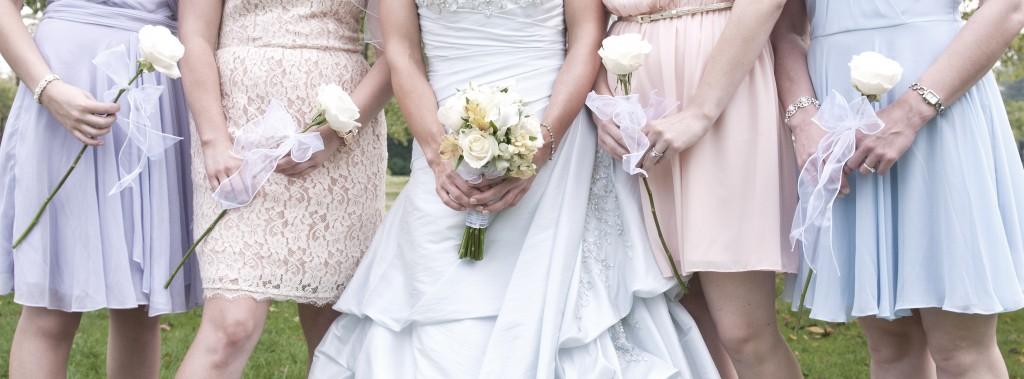 bridesmaid detail shot